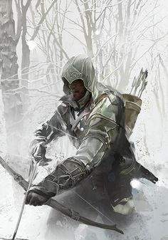 Cold Ambush - Pictures & Characters Art - Assassin's Creed III