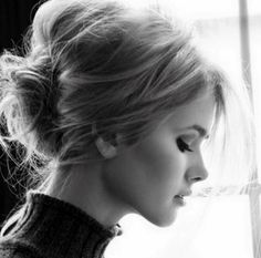 high messy updo - Google Search