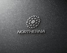 Northerna logo combines two elements - snowflake and dandelion - to create a unique and abstract emblem.