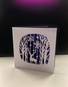 Laser cut replica of a hand cut paper cutting by papercutprincess1
