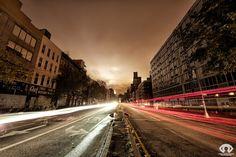 Stunning long exposure photos capture a powerless New York in a new light.