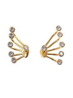 Pixie cuff lobe earrings | CA&LOU | MATCHESFASHION.COM