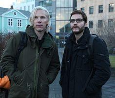 Benedict Cumberbatch has too much work, here as Julian Assange