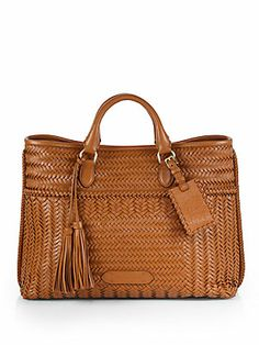 Ralph Lauren Collection Woven Tote
