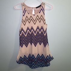 New without tags sanctuary crochet tank top medium Brand new condition has slip under it so it's not see through crochet like material beautiful tank top!!! Size medium Sanctuary Tops Tank Tops