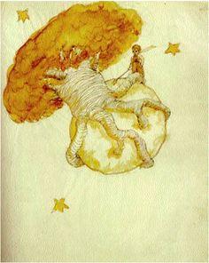 """""""Si un baobab no se arranca a tiempo, ya no es posible desembarazarse de él. Invade todo el planeta."""" El Principito;   Antoine de Saint-Exupéry #DLIJ"""