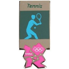 Price: $7.95 - Olympics London 2012 Olympic Sports Tennis Pin - TO ORDER, CLICK THE PHOTO