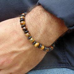 Armreife - Männer Perlen Armband - ein Designerstück von annarin100 bei DaWanda