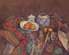 Naturaleza muerta con naranjas, 1900 - Paul Cézanne