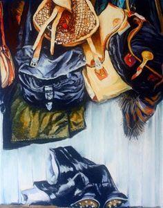 """The Mud Room"" - Original Fine Art for Sale - © Jill Bates"