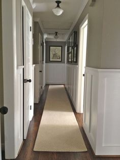 House tour - LOVE the styles here. Lots of great before/after. The board and batten in the hallway and entry is my favorite.