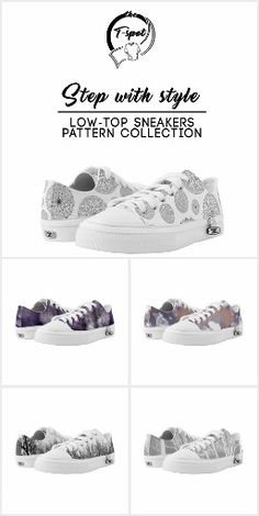 Step With Style - Low-Tops  Pattern Collection