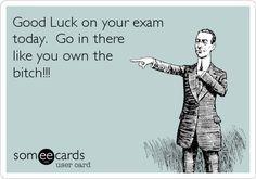 Cute Good Luck Quotes For Exams Exam good luck good luck exam