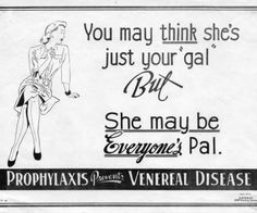 vintage medical advertisment - that's one way to address the topic of everyone's favorite hoochie lol