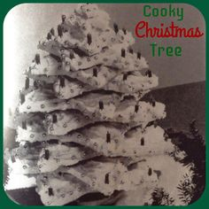 Vintage Christmas Recipe Series - 'Cooky' Christmas Tree This recipe comes from the 1945 edition . Christmas Cookies, Christmas Tree, Recipe Books, Vintage Recipes, Vintage Kitchen, Vintage Christmas, Nostalgia, Teal Christmas Tree, Vintage White Christmas