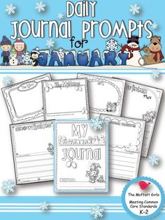(K-2) Daily Journal Prompt for January!