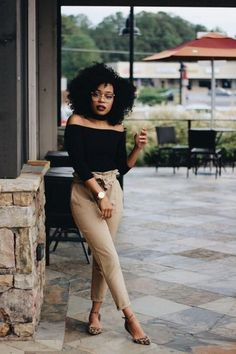 Classy Outfits For Women, Business Casual Outfits For Women, Casual Work Outfits, Simple Outfits, Girl Outfits, Cute Outfits, Amazing Outfits, Outfits For Black Girls, All Black Professional Outfits