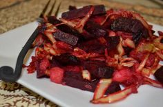 Roasted Beets, Cabbage and Green Apples (a SCD friendly recipe) | The Tasty Alternative