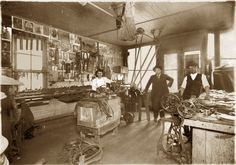 #ThrowbackThursday check out the old harness shop! How cool is this?