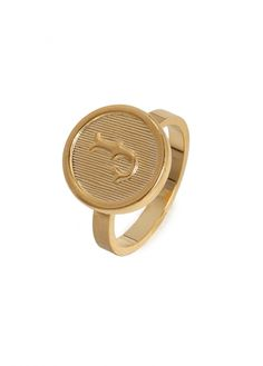 our initial signet ring!