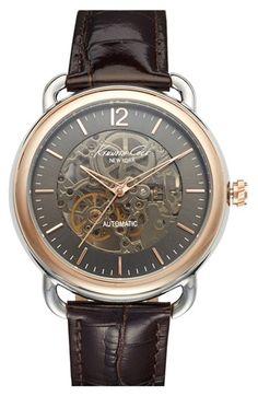 Nice rose gold watch