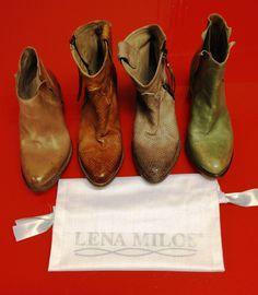 LENA MILOS vintage boots for spring summer 2014 #lenamilos #vintage #handmade #madeinitaly #colors #footwear #beautiful #love #brand #boutique