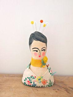 Soft sculpture display doll