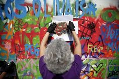 The Portuguese projectLATA 65 seeks to reconcile the senior citizens ofLisbon with street art and graffiti, offering workshops combining drawing lessons, di