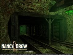 Where will the tunnels lead you? Find out by playing Nancy Drew: The White Wolf of Icicle Creek
