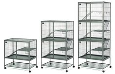 Midwest Container 182 Ferret Nation Double Unit with Stand: Amazon.ca: Pet Supplies