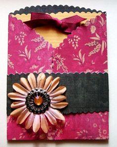 flower pocket card  2008
