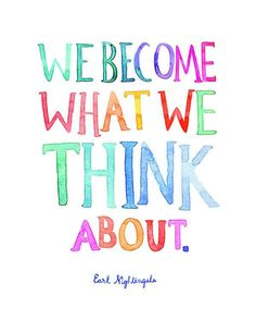 We become what we think about - 5 Creative Journals for all skill levels