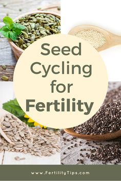 Seed cycling is a natural approach to balancing your progesterone and estrogen in the body and often recommended by naturopathic doctors to restore your body's health. Using seeds is not a quick fix solution, but a natural one that allows your body to heal on its own time. Using flax seed, pumpkin seed, sesame seed and sunflower seed in your diet at different times will help balance your hormones. Visit www.FertilityTips.com for more information.