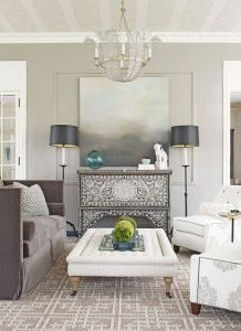 Beautiful neutral room