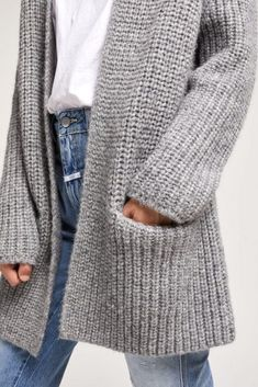 Ravelry: No Plain Jane Cardigan Pattern - Diy Crafts - maallure Long Sweaters For Women, Cardigans For Women, Quick Knits, Crochet Cardigan Pattern, Sweater Layering, Knitted Coat, Casual Tops For Women, Crochet Woman, Classic Outfits
