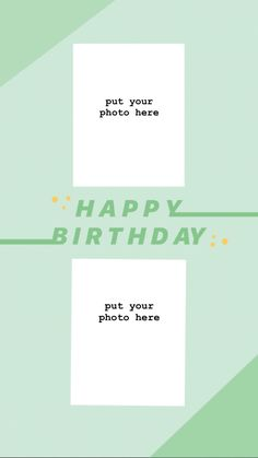 Happy Birthday Template, Happy Birthday Frame, Birthday Frames, Aesthetic Pastel Wallpaper, Cute Wallpaper Backgrounds, Cute Wallpapers, Creative Instagram Stories, Instagram Story Ideas, Instagram Frame Template