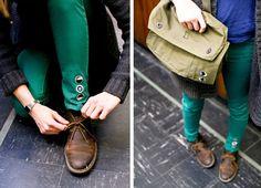 Tomboy Style: GEAR | Sarah Rainwater badges