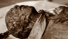 The end of Josef Goebbels, May 1945. If Hitler's body also was burned, why wasn't it also found like this?