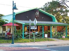 Mango Bistro-on Deerborn in Englewood, FL Florida Girl, Florida Home, Beach Town, Beach Bum, Coastal Living, Coastal Decor, Manasota Key Florida, Englewood Florida, Dock House
