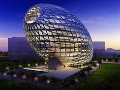 Mumbai - Egg building designed by James Law Cybertecture International