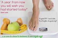 dedicato al mio anno di dieta. 13 agosto 13 :D