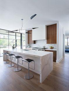 Simply Modern - Kitchen - Austin - Tim Cuppett Architects