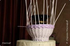 Мастер-класс Материалы и инструменты Плетение Окраска бумажных трубочек Трубочки бумажные фото 17
