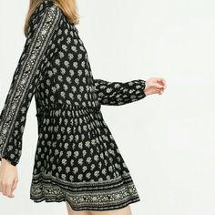 HOST PICK 3/31  Nwt Zara Peasant Dress Brand new with tags, women's xs Zara Dresses