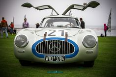 The seventh 300 SL chassis ever built and the first German-built car to win the 24 Hours of Le Mans.  Photo © Royce Rumsey