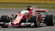 Ferrari's Sebastian Vettel has become the first driver to trial the FIA's latest cockpit protection concept, running with it in the early stages of FP1 at Silverstone.