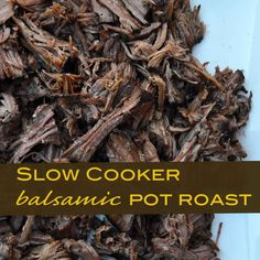 My new favorite slow cooker meal.