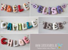 Bedroom Bunting, Fabric Names, Salvador, Home Deco, Stitching, Sewing Projects, Crochet Necklace, Children, Handmade