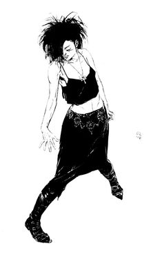 Death by Mike Dringenberg - Sandman 20th Anniversary poster