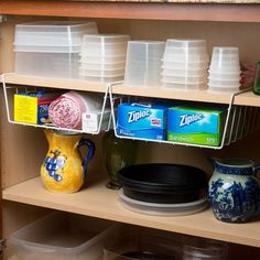Clever organizing supplies that will help you organize your kitchen in a flash!